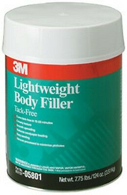 Lightweight Body Filler 05801, 1 Gallon 3M-5801 Brand New!