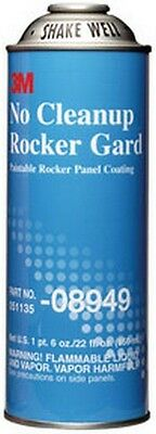 No Cleanup Rocker Gard Coating 08949, 22 fl oz/650 mL 3M-8949 Brand New!