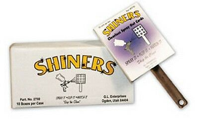Shiners, Clearless Sprayout Cards GLE-2750 Brand New!