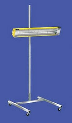 SRU-1615 120V Medium Wave System Portable Infrared Curing Lamp with One Head