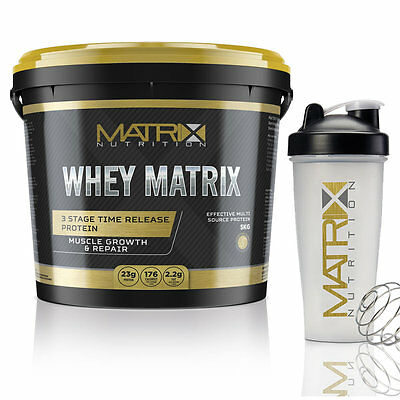 Whey Protein - Muscle Growth - All Flavours & Sizes -  By Matrix Nutrition