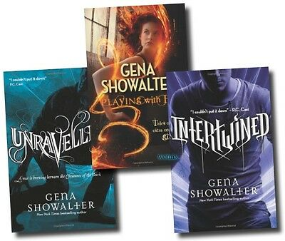 Gena Showalter Collection 3 Books Set Series Pack (Intertwined, Unravelled, Etc)