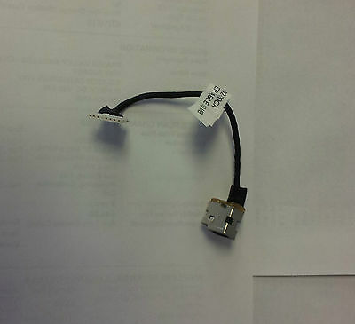 HP G62-220CA Power Jack w/ cable