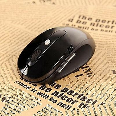 Souris Optique Noir Sans Fil Mouse Wireless  2.4 Ghz Usb  10M