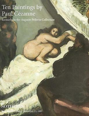 Sotheby's Cezanne 10 Paintings Pellerin Collection HC Auction Catalog 1997