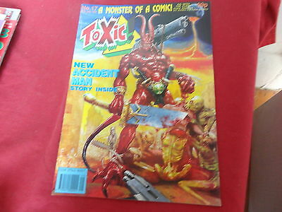 TOXIC #17   2000 AD A.D. Spin-off UK Comic 1991