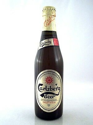 1984 circa CARLSBERG Beer 340ml Isle of Wine