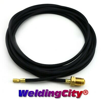 TIG Welding Power Cable/Water Hose Rubber 45V03R 12.5' Torch 20 | US Seller Fast