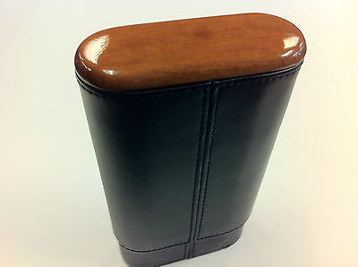 Montecristo Signature Leather Cigar Case  UP TO 56 Ring Gauge