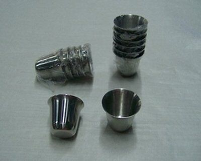 """Stainless Steel Communion Cups - - - 1 3/8"""" inches (Pkg-40)"""