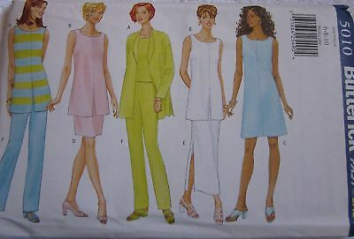 4304 UNCUT Vintage Butterick Sewing Pattern Jacket Dress OOP FF Classic NEW SEW