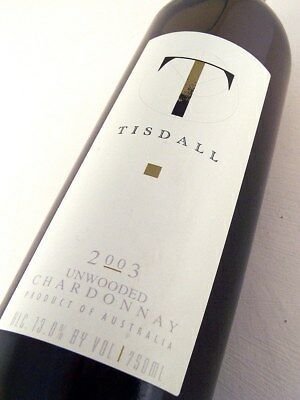 2003 TISDALL WINERY Unwooded Chardonnay Isle of Wine