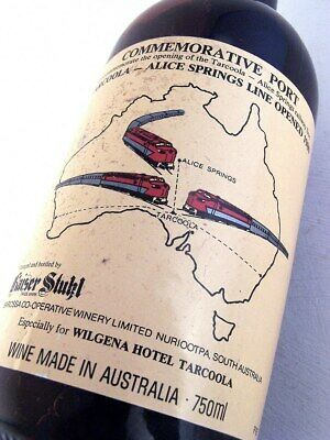 1980 circa KAISER STUHL Tarcoola-Alice Port Isle of Wine