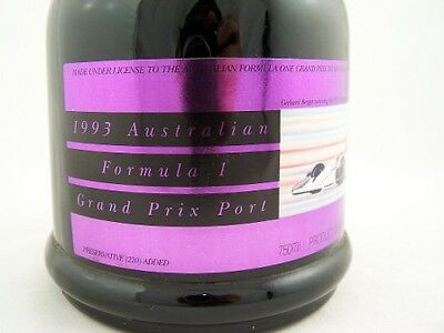 1992 AUSTRALIAN FORMULA ONE Grand Prix Port Isle of Wine