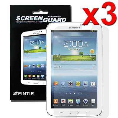 3x Clear Premium Screen Guard Protector for Samsung Galaxy Tab 3 7.0 inch Tablet