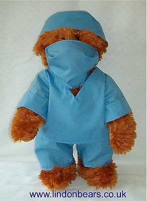 New Nhs Surgeon Lindon Jointed Teddy Bear –16Inch/40Cm Tall–Rrp £39 Now Only £24