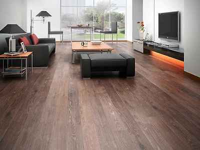 "6"" Distressed Vintage Costa UV Oiled Engineered Floating Wood  Flooring Sample"