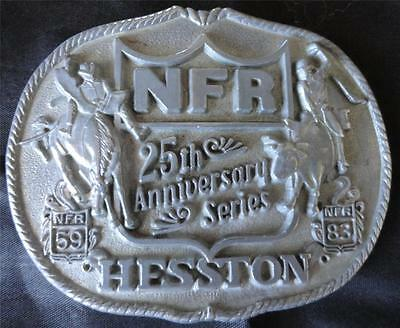 COLLECTIBLE NFR 25TH ANNIVERSARY SERIES FIRST EDITION HESSTON