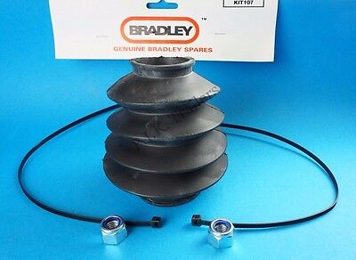 Genuine Bradley HU3 Doublelock Hydratow Coupling Bellows up to 2750kg Kit 107