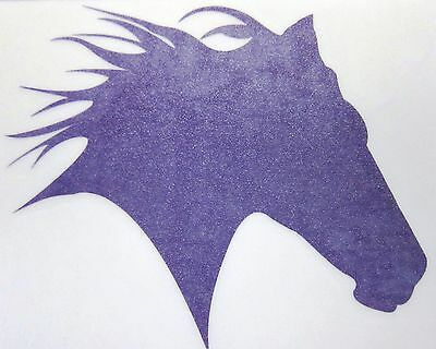 Mustang Horse Decal for Truck Trailer Car SUV Laptop Cowboys Cowgirls Med Purple