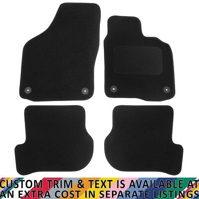 Volkswagen VW Golf MK VI 2008-2013 Fully Tailored 4 Piece Car Mat Set 4 Clips