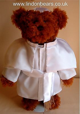 New Pope Lindon Jointed Teddy Bear –16Inch / 40Cm Tall–Rrp £55 On Offer At £40