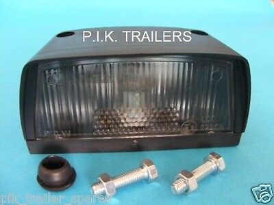AJBA Licence Number Plate Lamp Light for Erde & Daxara Trailer LT18