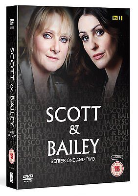Scott and Bailey: Complete Series season 1 and 2 DVD Box Set R4 new & sealed