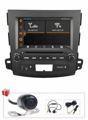 A9 1GHZ Car DVD GPS Satnav Navigation Multimedia Radio for Mitsubishi Outlander