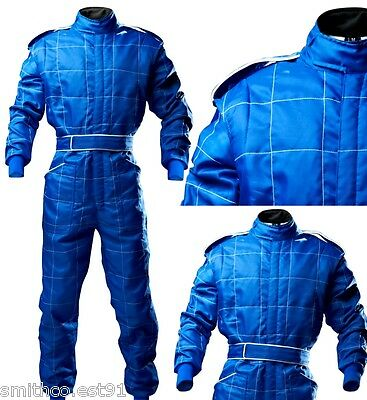 CIK Level 2 KART Suit BLUE BAMBINO CADET JUNIOR