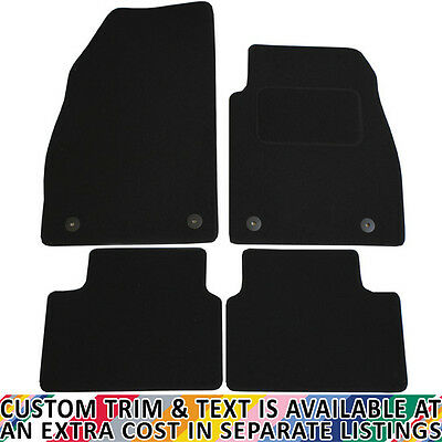 Vauxhall Insignia 2008 - 2013 Fully Tailored 4 Piece Car Mat Set with 4 Clips