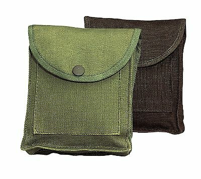 Canvas Utility Pouch w/ Belt Loop - Hiking Camping Compact Pocket Pouches