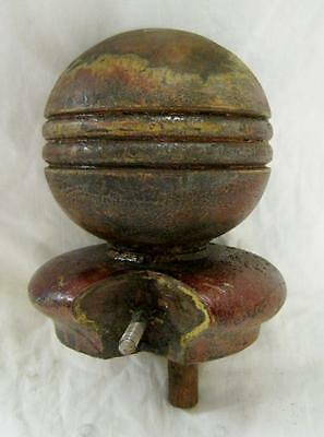 Antique Newel Post Ball Finial  #2154-13