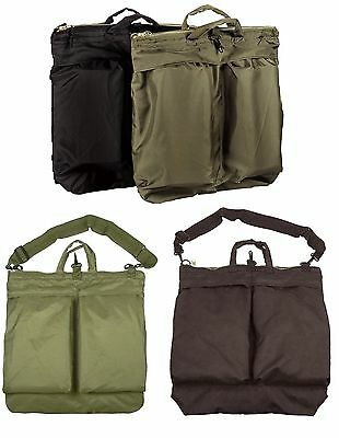 f056fd804927 GI Type Flyers Helmet Bags With Or Without Shoulder Straps - Olive Drab    Black