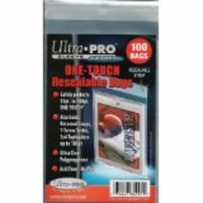 Ultra Pro Resealable One Touch Card Holder Sleeves 100 count package Brand New
