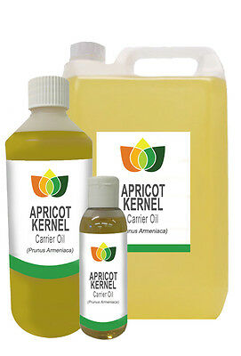 APRICOT KERNEL OIL - Cold Pressed FREE P&P (Base Carrier Massage Aromatherapy)