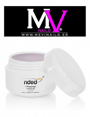 GEL UV  VALIDO PARA LAS 3 FASES 15ml  Nded Alta Calidad -  Nails Art