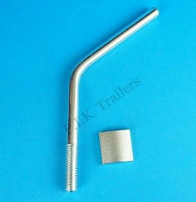 Genuine Bradley Jockey Wheel Handle & Pad to fit HU3L, 3H, HU4, HU5 Couplings