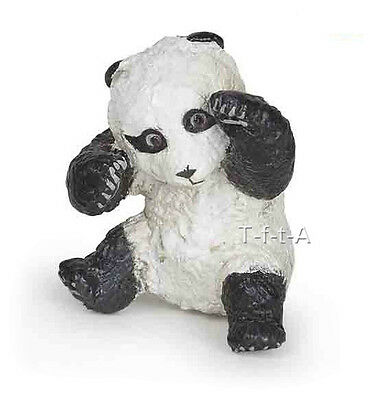 FREE SHIPPING | Papo 50134 Panda Bear Cub Playing Wild Baby Toy- New in Package