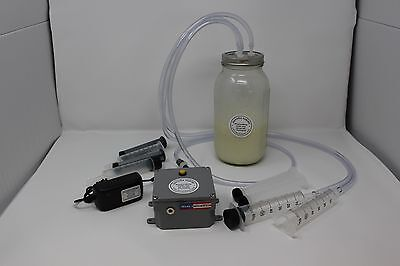 Dansha Farms™ Goat Sheep Cow Rechargeable Milk Machine  One Quart Two Teat