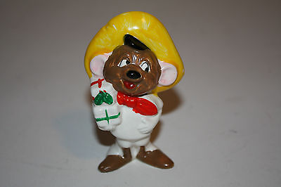 """VINTAGE COLLECTIBLE HOLIDAY LOONEY TUNES ORNAMENT """" SPEEDY GONZALES"""" 1978"""