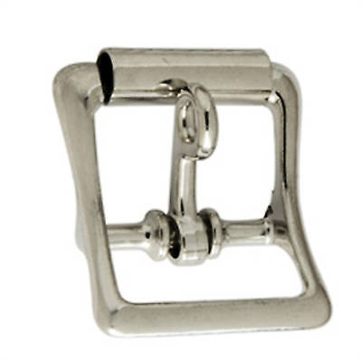 "All Purpose Roller Buckle w/Lock Nickel Plated 1"" 1540-10 by Tandy Leather"