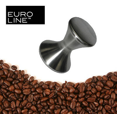 Euroline Coffee Tamper, 6.5cm Stainless Steel, Professional Design & Quality