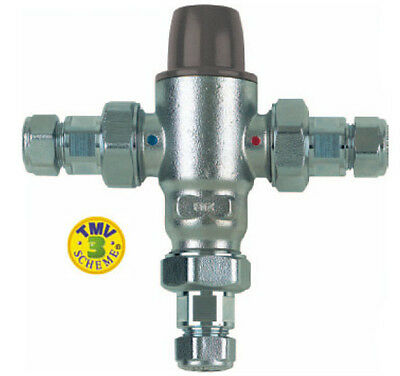 Caleffi Careflo Thermostatic Mixing Valve DO8 Class 3