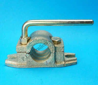 48mm Heavy Duty Cast Clamp for Ribbed Jockey Wheel for Trailers