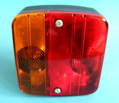 4 Way Rear Multi Cluster Small Lamp Light for Trailer