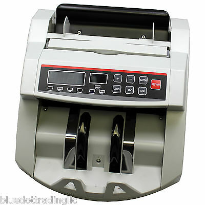 Cash Money Bill Counter With Counterfeit Detector ~ NEW In BOX!