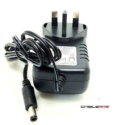 Silverline 15V 2a ac/dc 5.5mmx2.5mm UK power supply adaptor quality charger