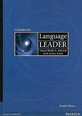 Pearson LANGUAGE LEADER Intermediate Teacher's Book & ACTIVE TEACH Pack @NEW@