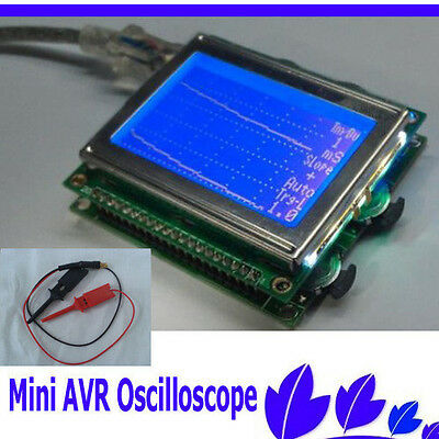 New Mini AVR DSO150 Digital Storage mini pocket Oscilloscope With USB Cable agz